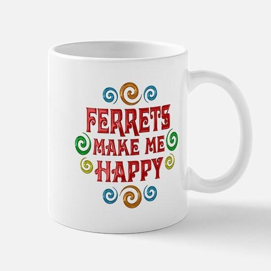 Ferret Happiness Mug