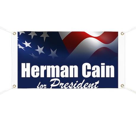 Herman Cain 2012 Banner