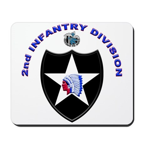 US Army 2nd Infantry Division Mousepad