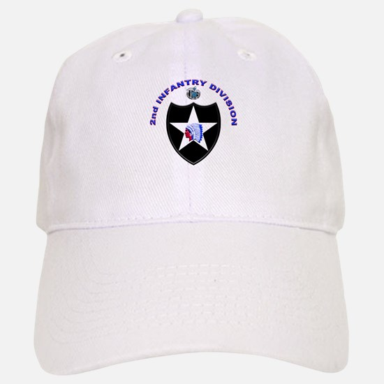 US Army 2nd Infantry Division Baseball Baseball Cap