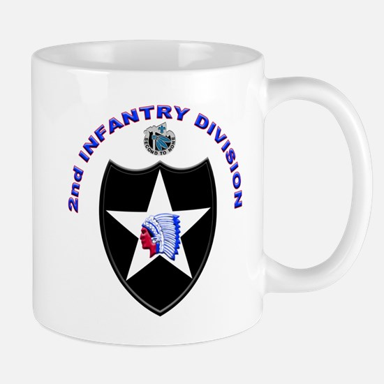 US Army 2nd Infantry Division Mug