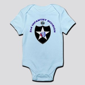 US Army 2nd Infantry Division Infant Bodysuit