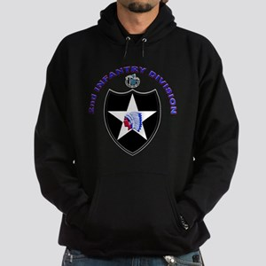 US Army 2nd Infantry Division Hoodie (dark)