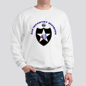 US Army 2nd Infantry Division Sweatshirt