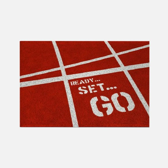 Cool Running in the usa race results clubs Rectangle Magnet