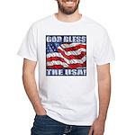 God Bless The USA! White T-Shirt