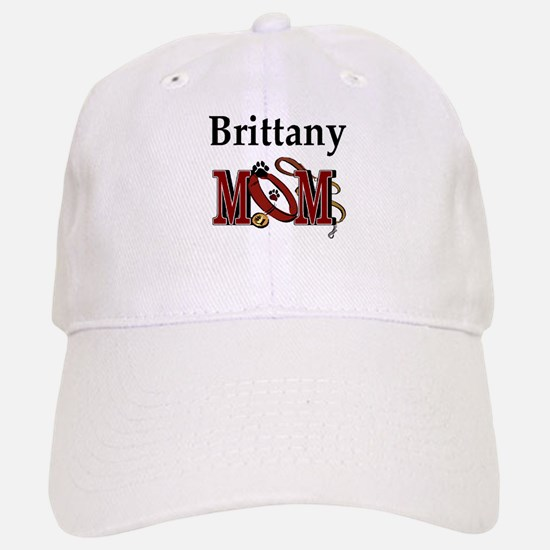Brittany Spaniel Mom Baseball Baseball Cap