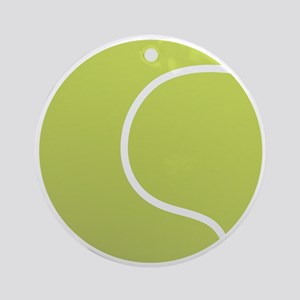 Tennis Ball Icon Ornament (Round)