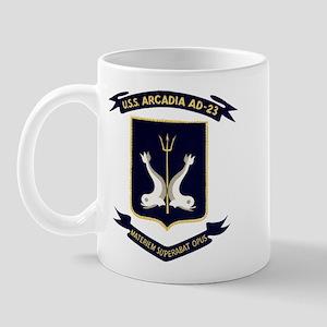 USS ARCADIA Mug