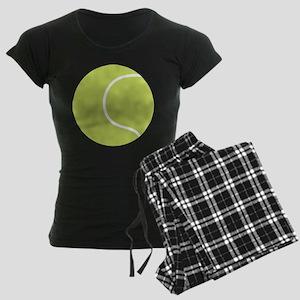 Tennis Ball Icon Women's Dark Pajamas