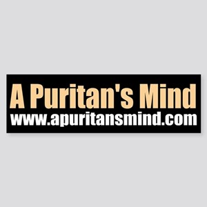 A Puritan's Mind - Sticker (Bumper)