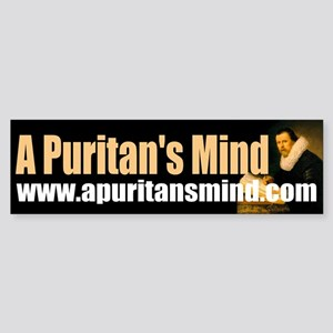 A Puritan's Mind Logo Sticker (Bumper)