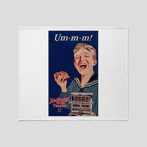 Ummm - Toast! Throw Blanket