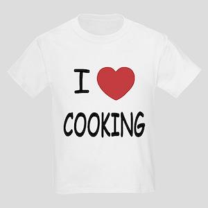 I heart cooking Kids Light T-Shirt