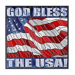 God Bless The USA! Tile Coaster