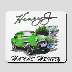 Hanas Henry Mousepad