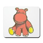 Pink As A Hippo Mousepad