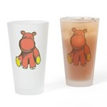 Pink As A Hippo Pint Glass