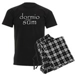 dormio ergo sum Men's Dark Pajamas