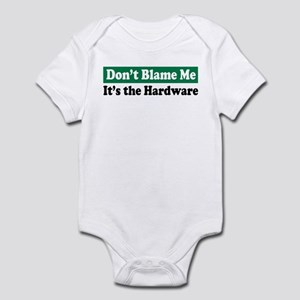 It's the Hardware Infant Creeper