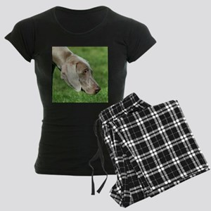 Weimaraner Women's Dark Pajamas