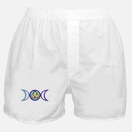 Balanced Indigo Moon Boxer Shorts