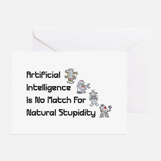 Artificial Intelligence Greeting Cards (Package of