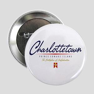 "Charlottetown Script 2.25"" Button"