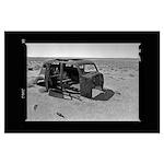 Car in Desert 16 Poster