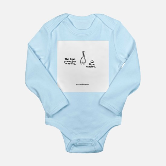 Bun6 wasting time Long Sleeve Infant Bodysuit