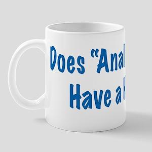 Anal Retentive Mug