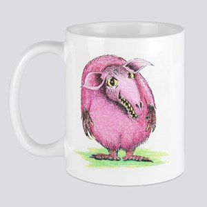 Pink Wolly Schnickle Mug