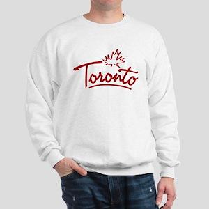 Toronto Leaf Script Sweatshirt