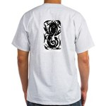 West Coast Tribal Tattoo Grey T-Shirt
