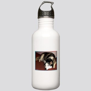 Dog, husky, photo, Stainless Water Bottle 1.0L