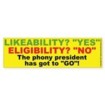 Likeabiliyt Bumper Sticker 10 pk