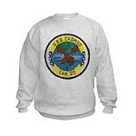 USS CADMUS Kids Sweatshirt