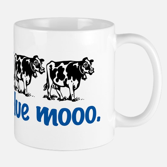 Once in a Blue moo Cow Mug