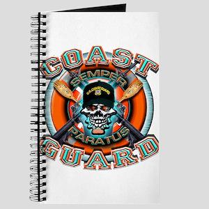 US Coast Guard Skull M-4s Journal