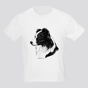 Border Collie Kids Light T-Shirt