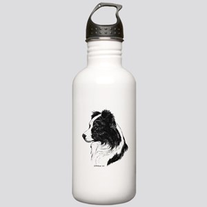 Border Collie Stainless Water Bottle 1.0L