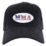 MMA USA Black Cap with Patch