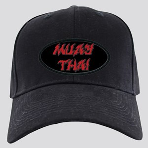 Muay Thai Black Cap