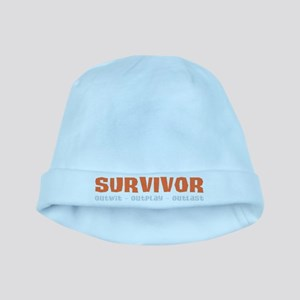 Survivor Outwit, Outplay, Out baby hat