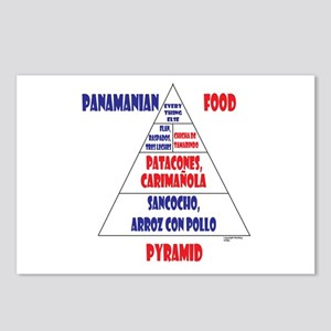 Panamanian Food Pyramid Postcards (Package of 8)