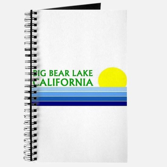 Cute Big bear lake Journal