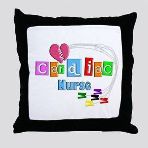 Registered Nurse Specialties Throw Pillow
