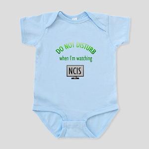 Do Not Disturb Watching NCIS Infant Bodysuit