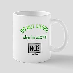 Do Not Disturb Watching NCIS Mug