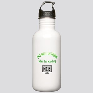 Do Not Disturb Watching NCIS Stainless Water Bottl